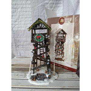 Lemax 24757 wooden ranger Tower village enchanted
